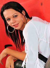 Tgirl Sabrina Thalia in hot hardcore