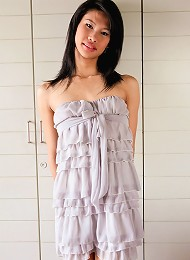 Ladyboy Ladyboys girl of the month, Sai, is kind of shy but has a wild beast within her!
